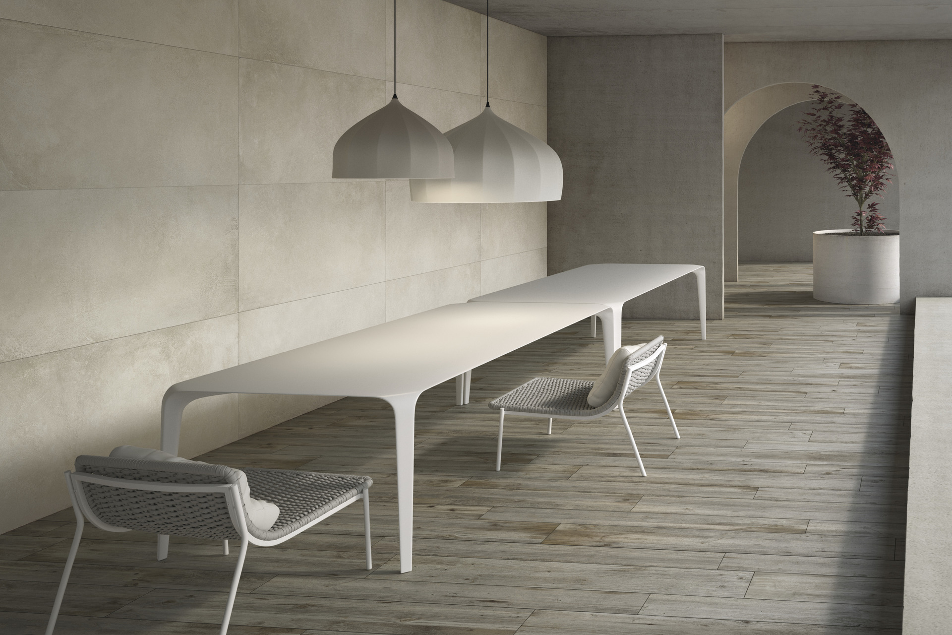Wood Effect Porcelain Tiles - Innovative Slabs Legni High-Tech