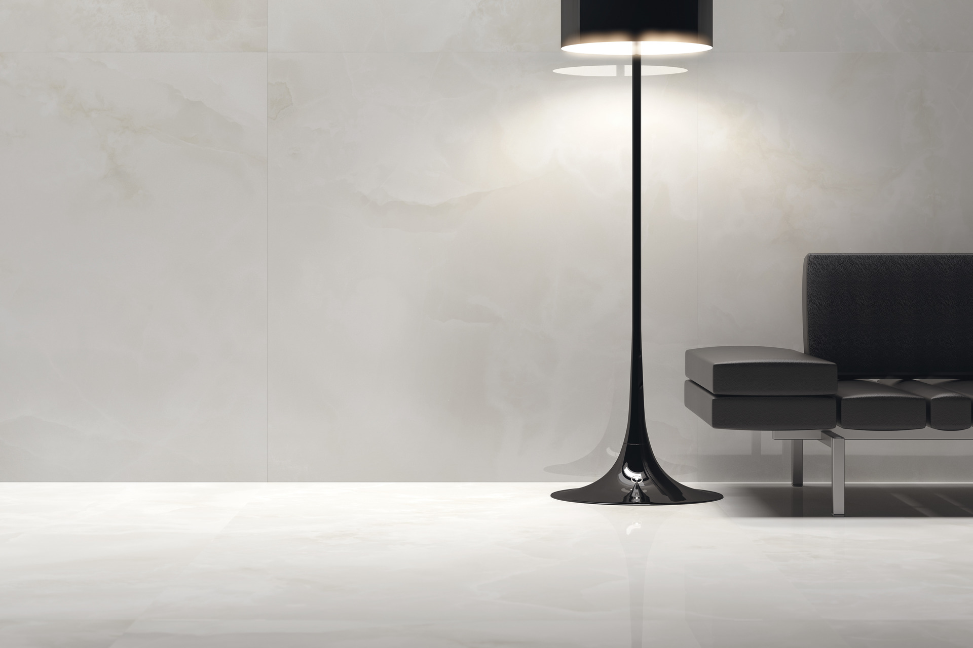 Marble Effect Porcelain Tiles - Ultra Onici