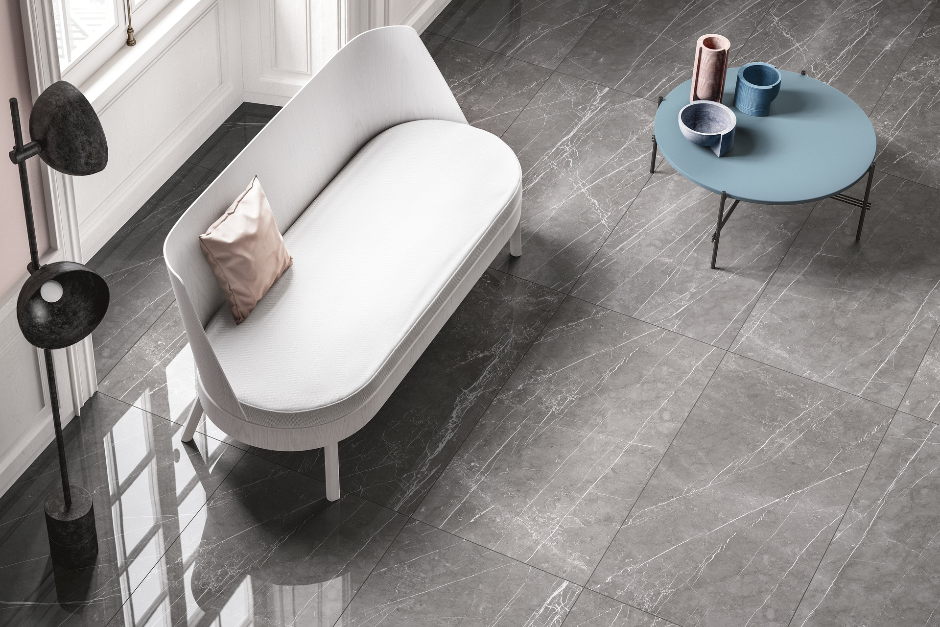 Marble Effect Porcelain Tiles - Marble Lab