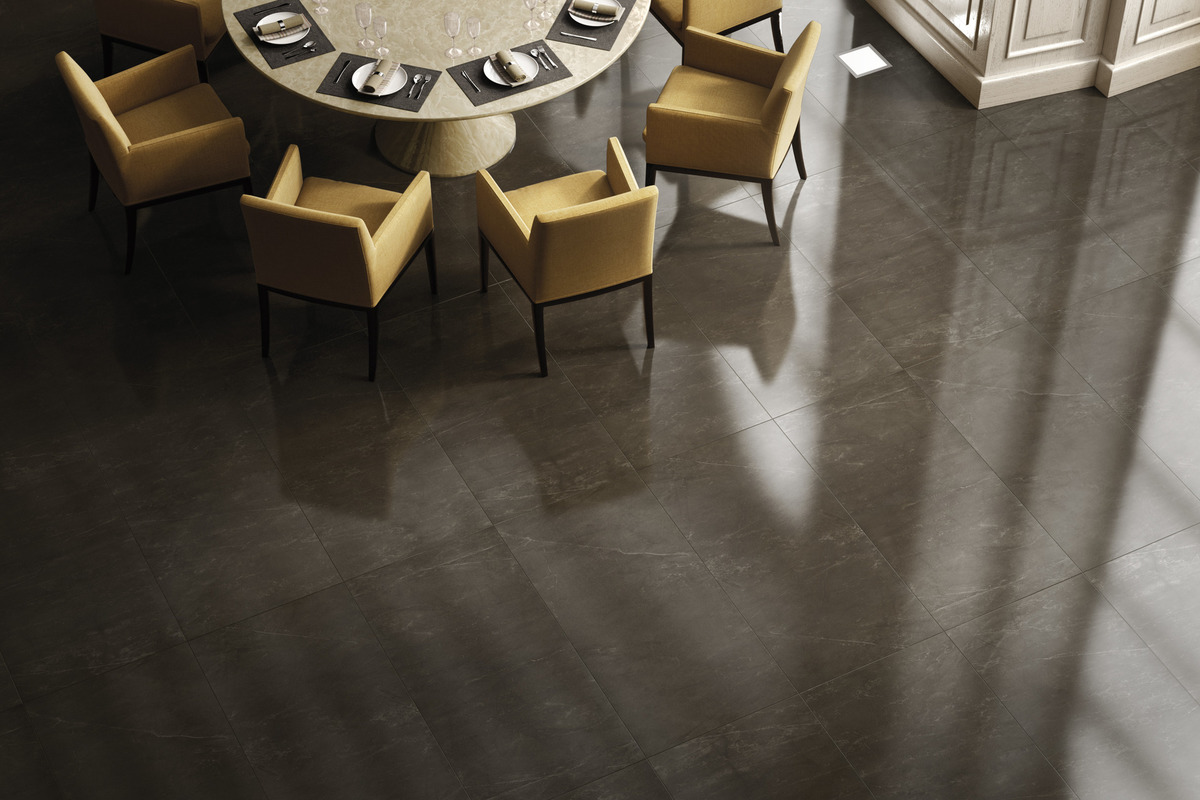 Marble Effect Porcelain Tiles - Marble