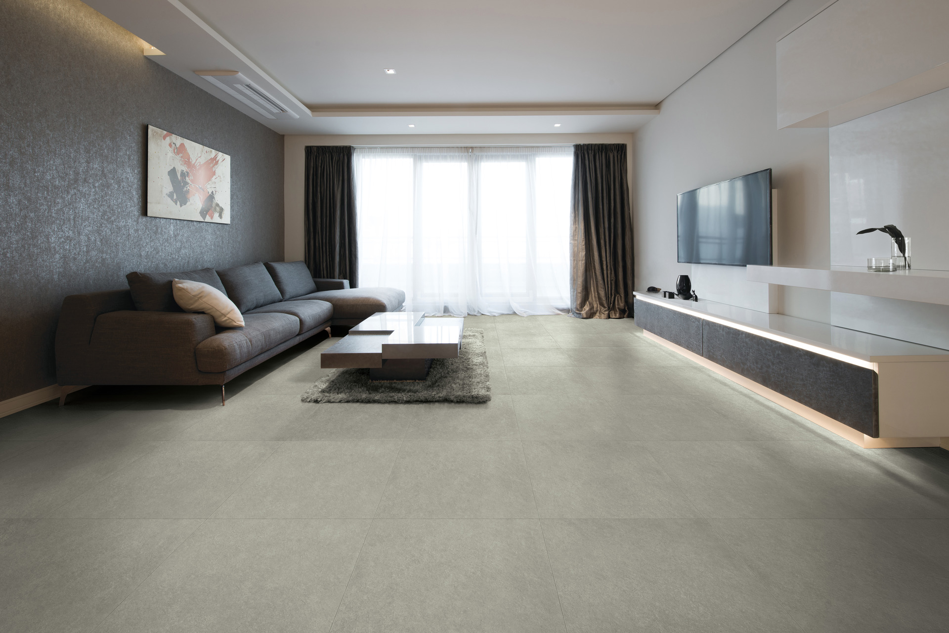 Stone Effect Porcelain Tiles - Shade