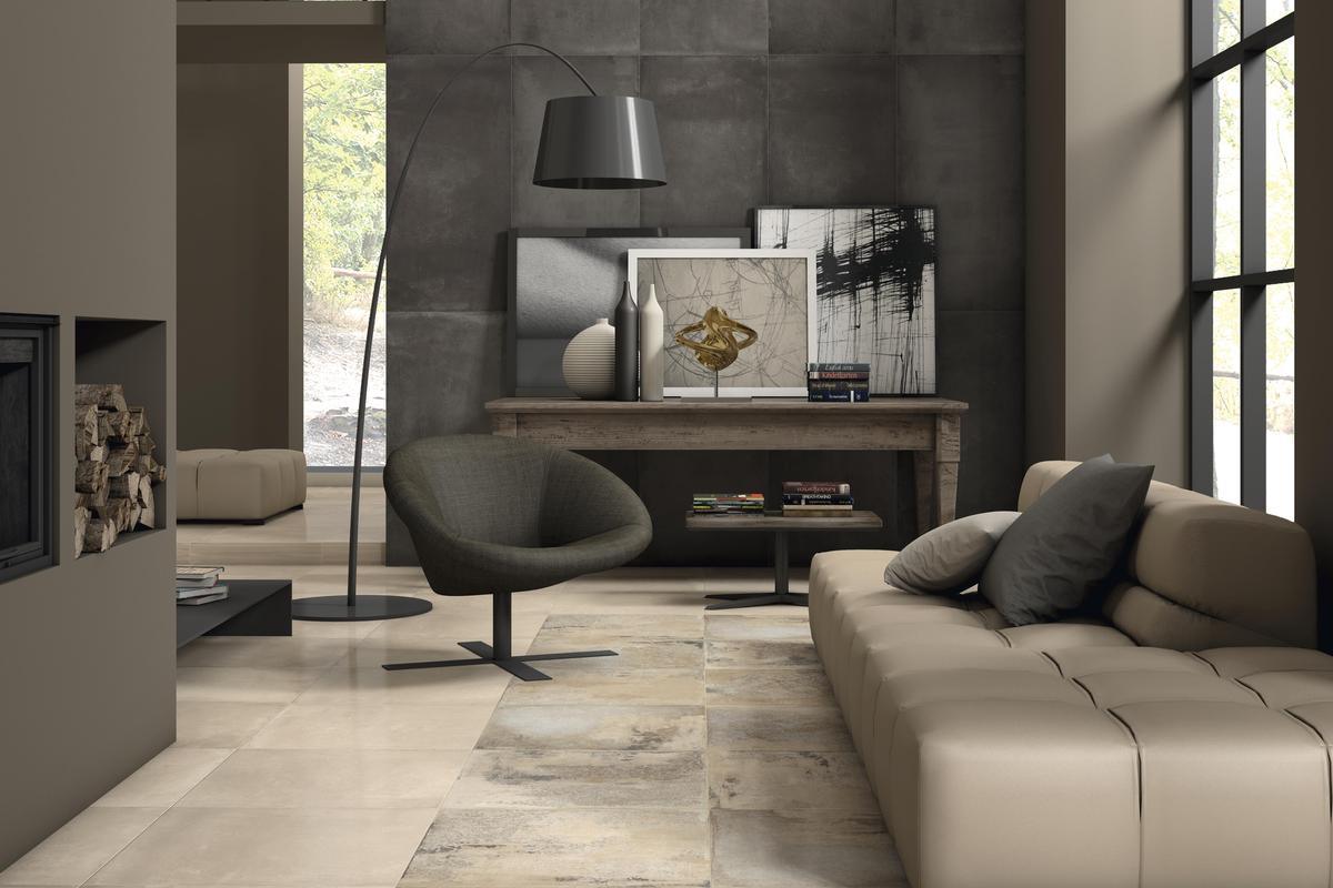 Cement / Resin Effect Porcelain Tiles - Desire