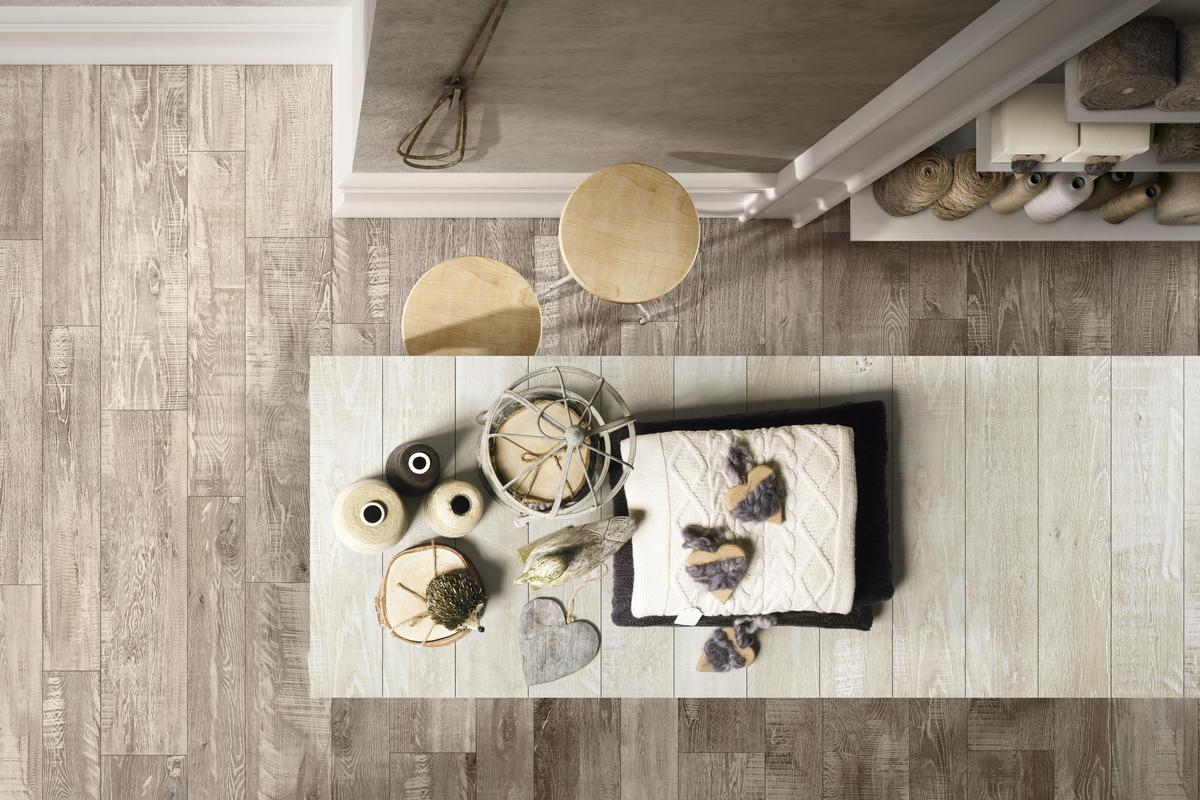 Wood Effect Porcelain Tiles - Madeira