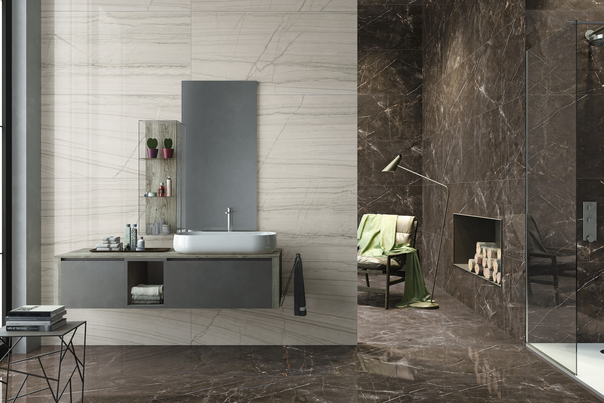 Marble Effect Porcelain Tiles - Marmi 3.0