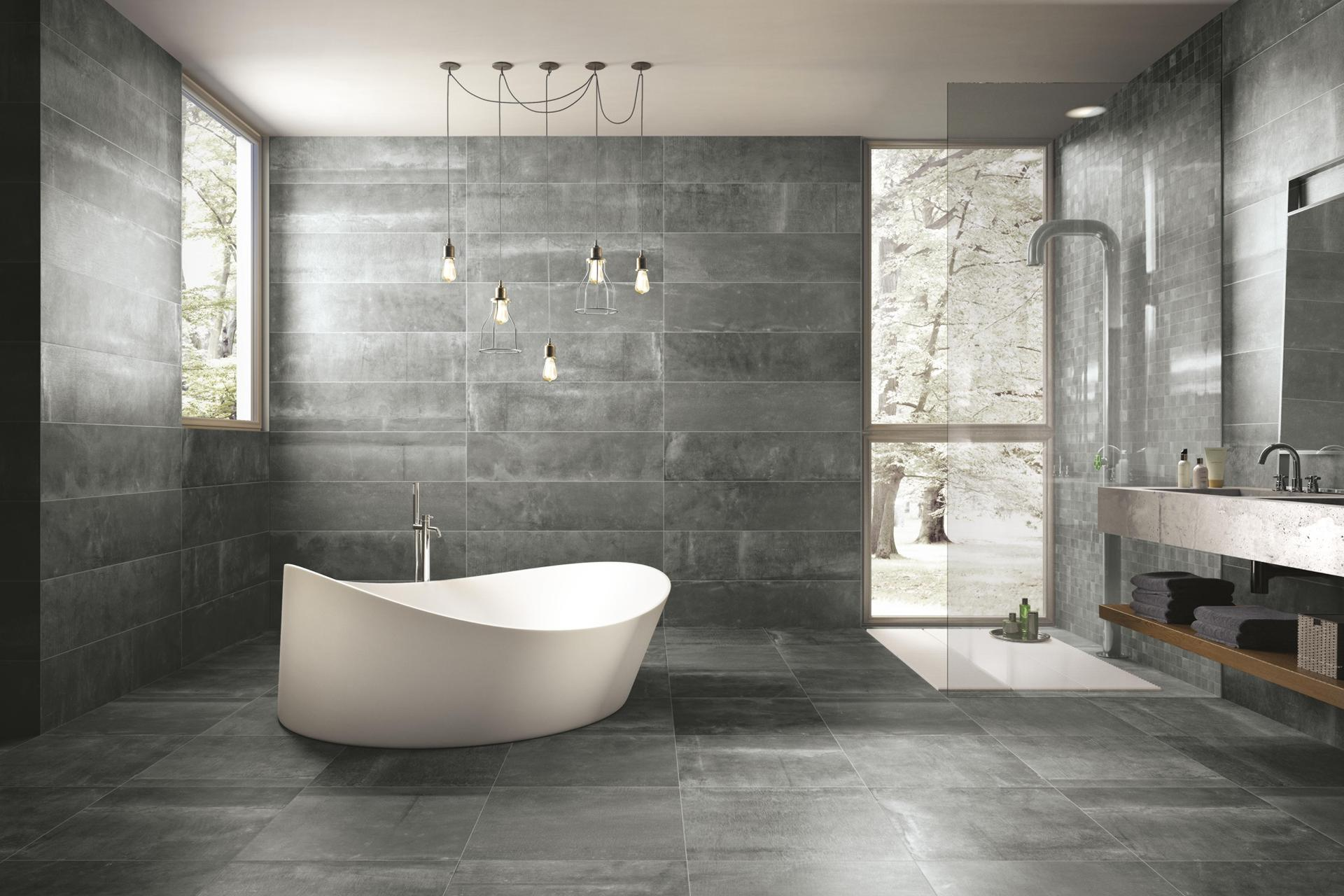Stone Effect Porcelain Tiles - Reside