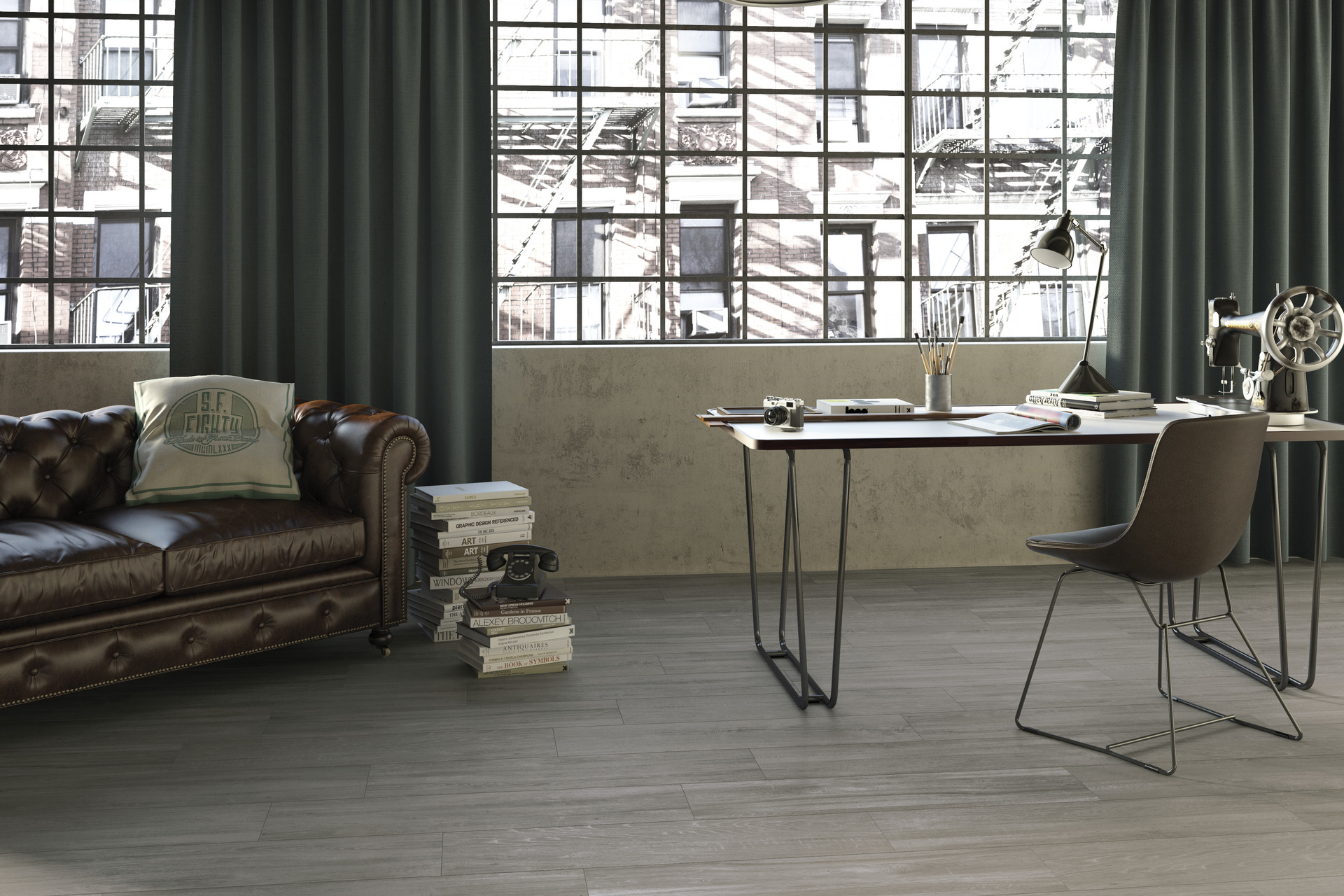 Wood Effect Porcelain Tiles - Grove Wood