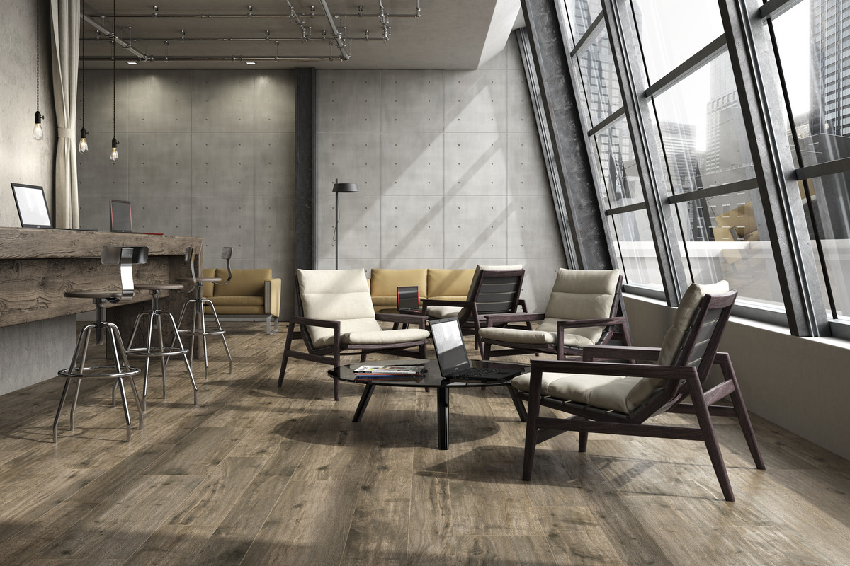 Wood Effect Porcelain Tiles - In_wood
