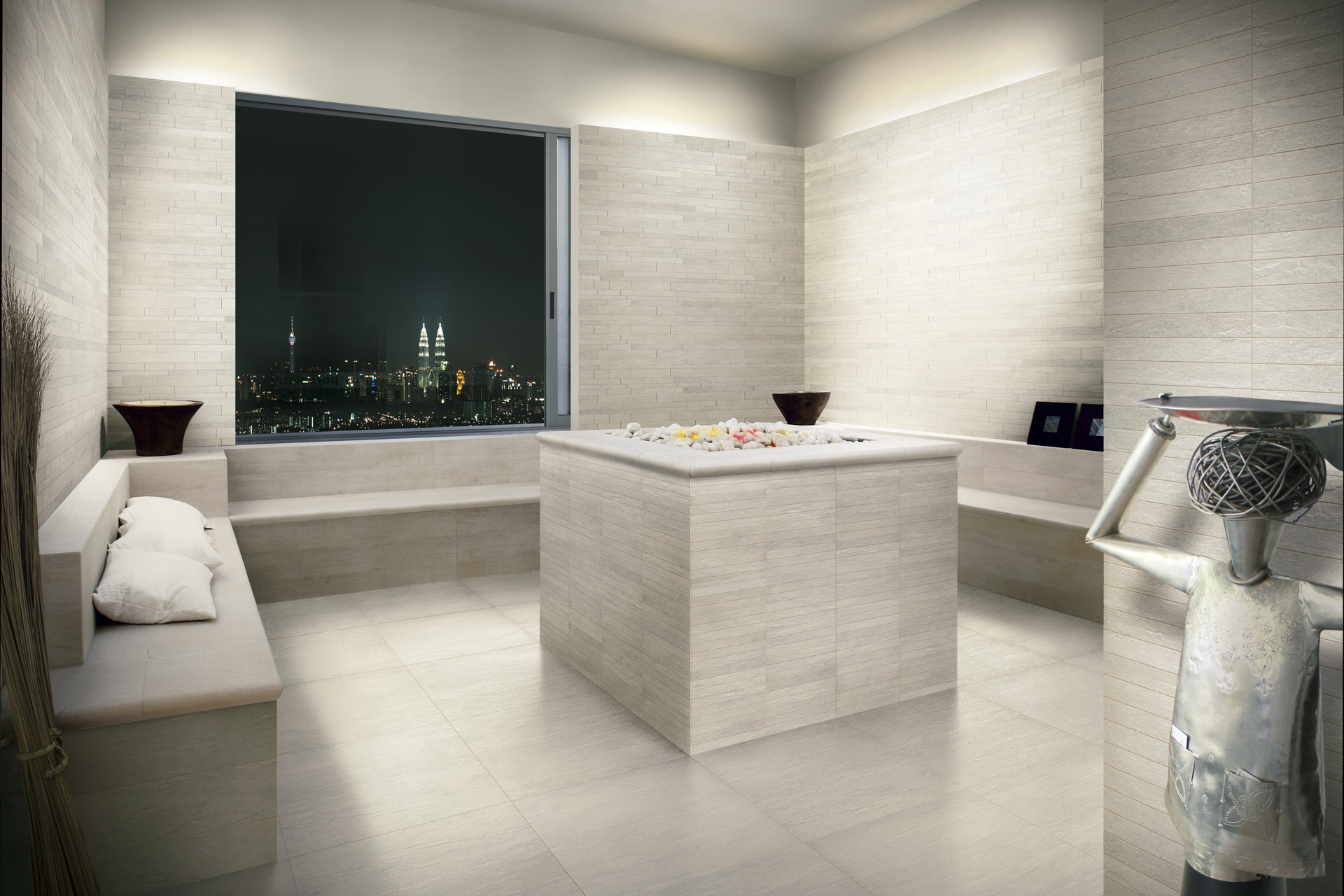 Stone Effect Porcelain Tiles - Quarzite Reale