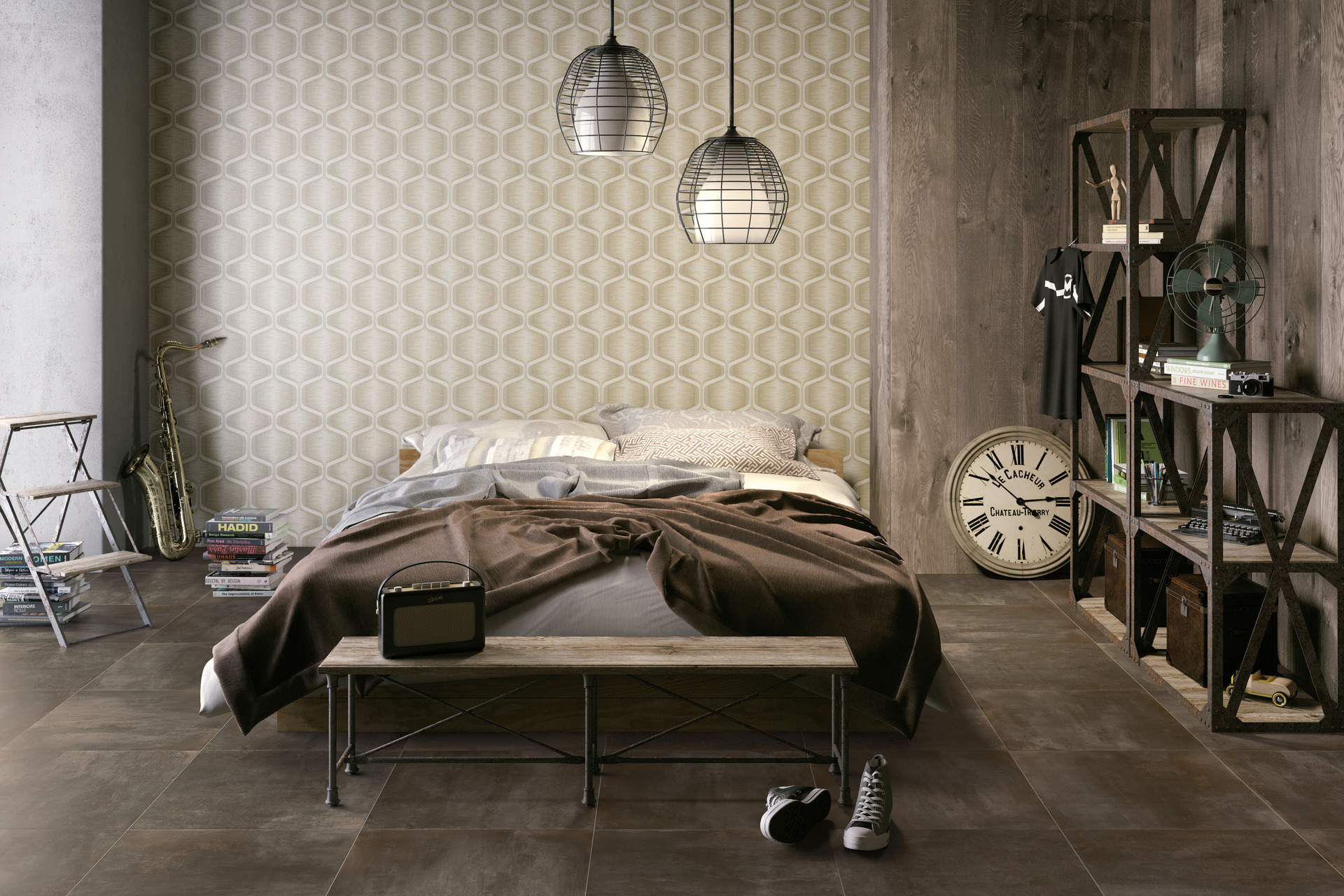 Metal Effect Porcelain Tiles - Radical