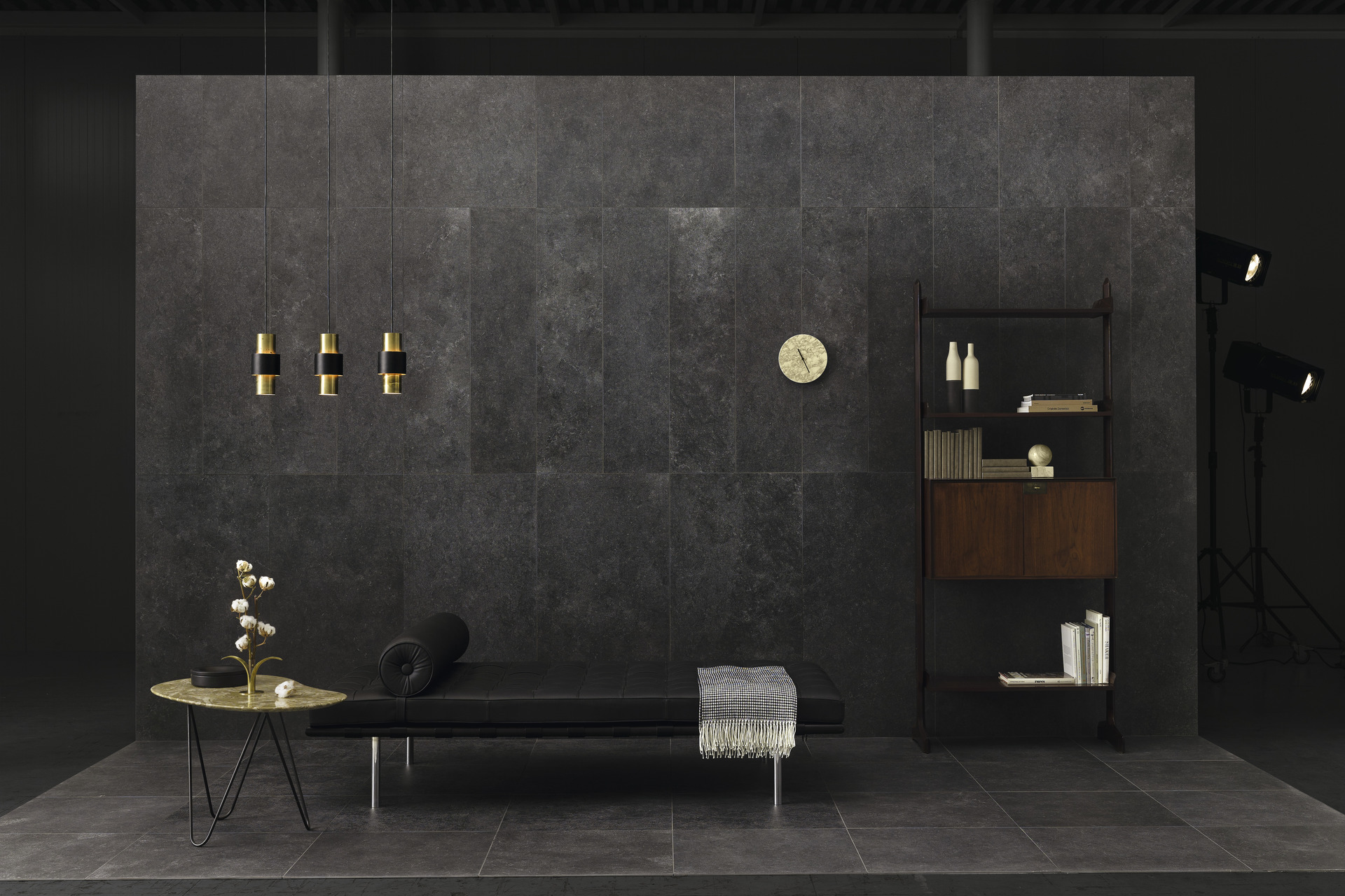 Stone Effect Porcelain Tiles - Silk Stone