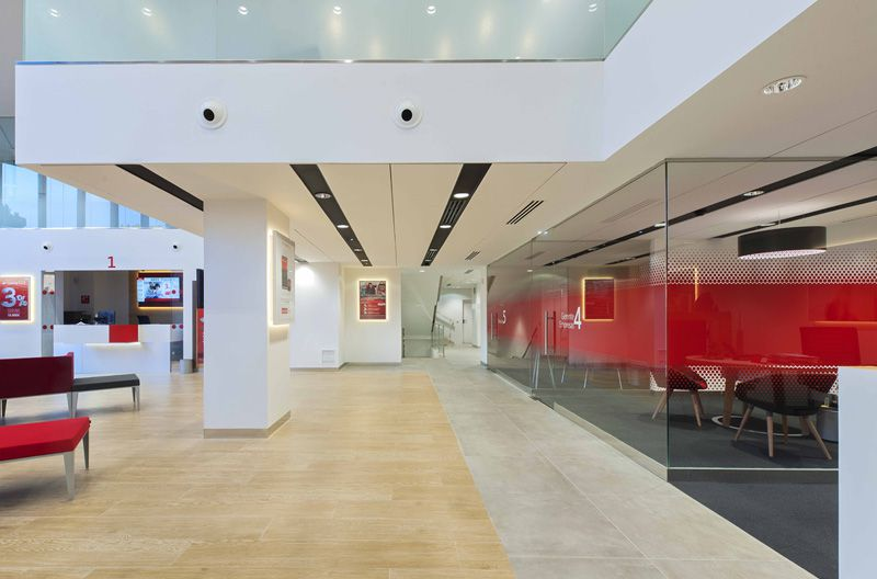 Santander Offices: a different model of banking in Spain