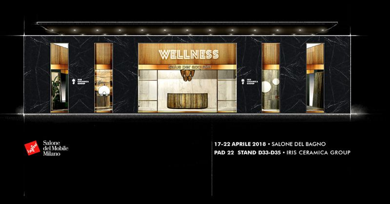 The novelties of Iris Ceramica Group will be present jointly, for the first time, in the Salone del Mobile in Milan.
