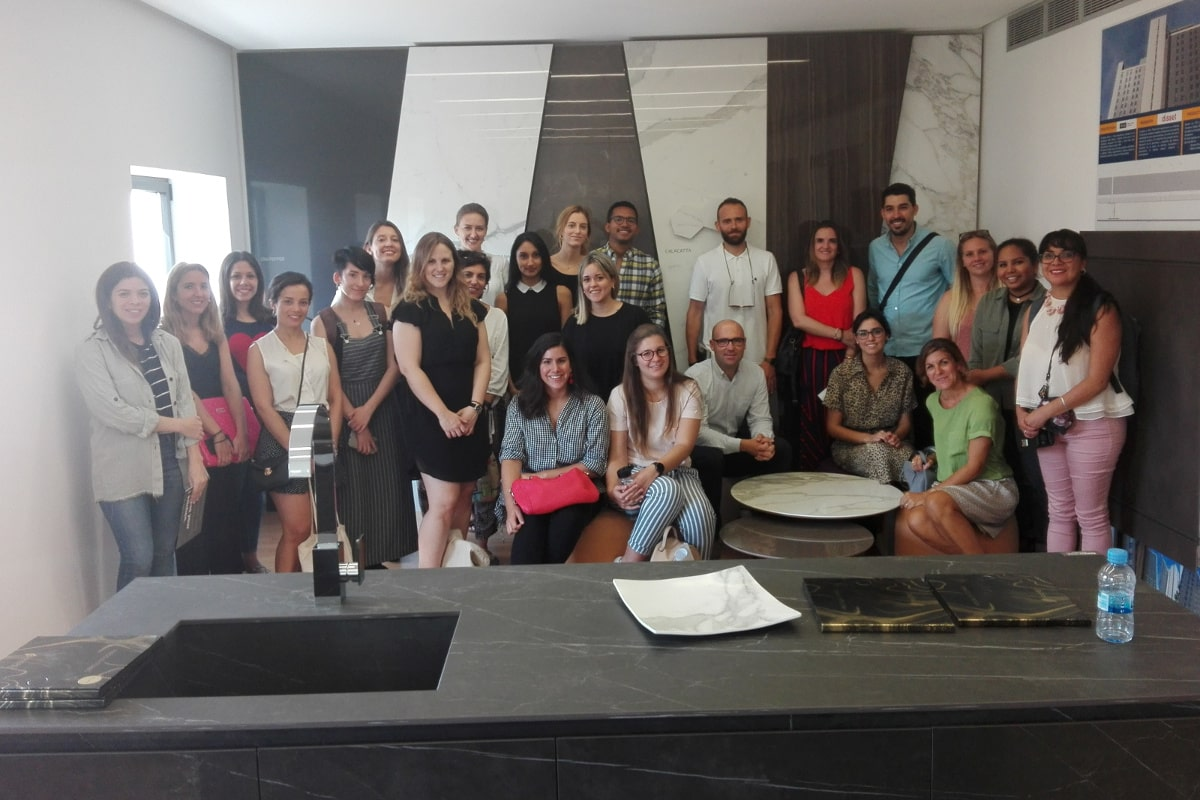 INSENIA DESIGN SCHOOL MADRID VISITS THE FACILITIES OF MADRID